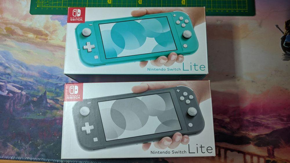 Nintendo Switch lite, новая, прошита чипом Sx Lite, игры бесплатно Дружковка - изображение 1