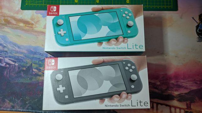 Nintendo Switch lite, новая, прошита чипом Sx Lite, игры бесплатно