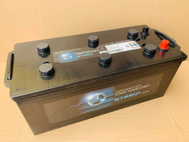 NOWY! Akumulator Rozruchowy 12V 170Ah 1000A OEM MERCEDES ! LUBLIN