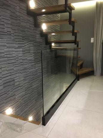 Nowoczesne Balustrady Szklane Nierdzewne Aluminiowe