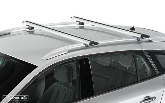 Barras de Tejadilho Aerodinâmicas Dacia Duster de 2018+   Mitrosport