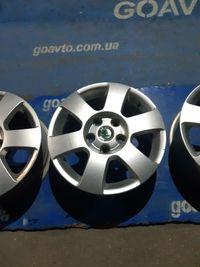 GOAUTO комплект дисков Skoda Volkswagen 5/112 r15 et47 6j dia57.1 в ид