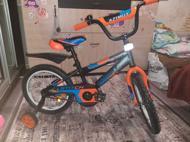Детский велосипед Azimut Stitch 16*