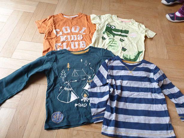 Bluzki bluzy koszulki ubrania dla chłopca 104