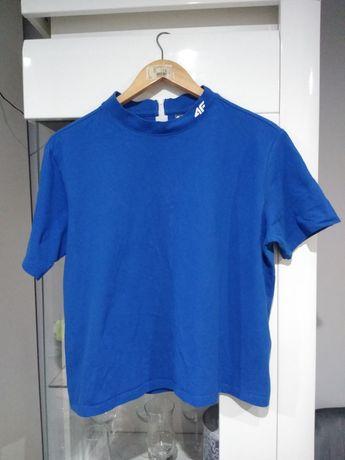 Bluzka 4f niebieska krótka