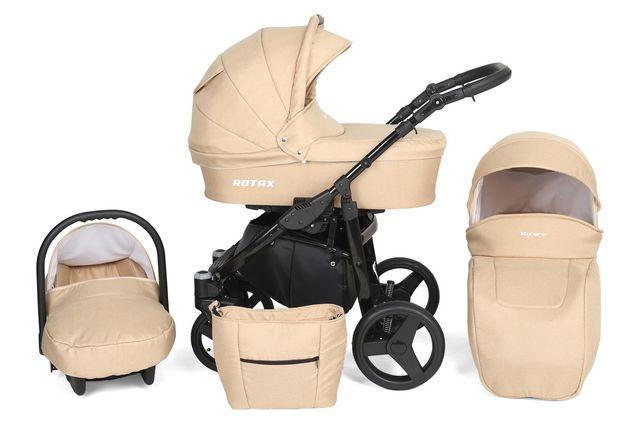 Wózek 3w1 Rotax gondola spacerówka fotelik