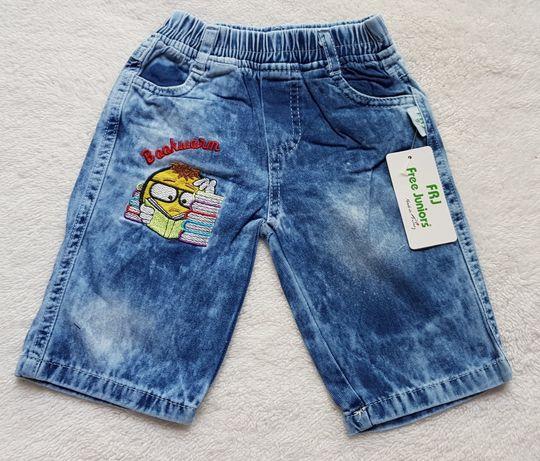 Spodenki jeansowe 80, 86