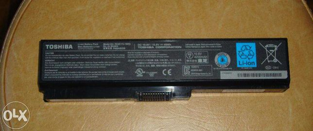 Bateria Toshiba nova original L650 L750, etc, etc series