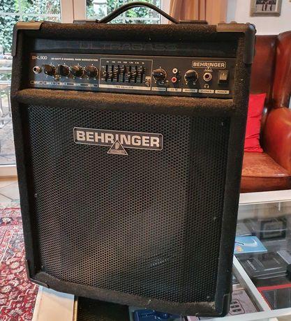 Wzmacniacz do gitary basowej Behringer BXL900 Ultrabass, też perkusji
