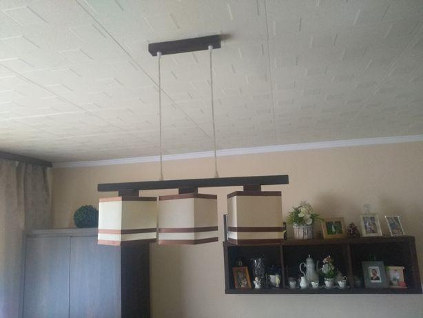Lampa sufitowa na trzy zarowki