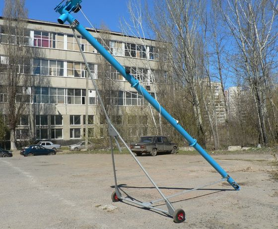 Шнековый погрузчик Ø 133 мм, шнековый транспортер , протравитель зерна