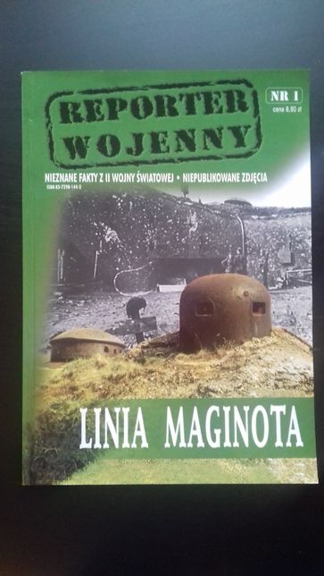 Linia Maginota, reporter wojenny, szczegółowe