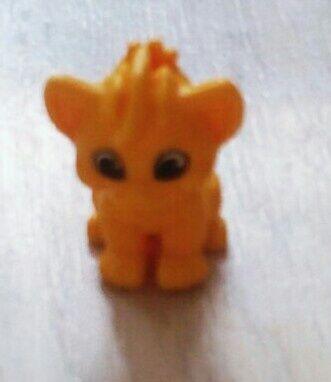 Игрушка киндер львёнок