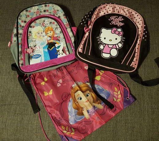Plecaki dla dziewczynki Kraina Lodu i Hello Kitty !!!