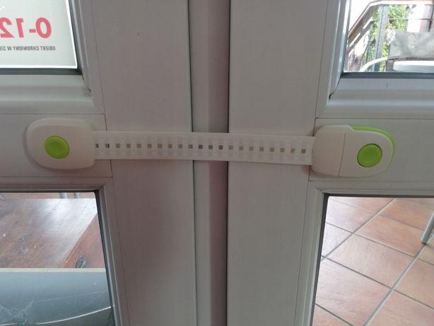 Blokada zabezpieczenie okien drzwi szafek szuflad narożniki