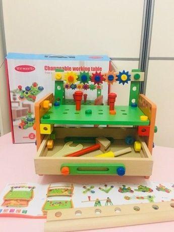 Спешите заказать Деревянный Конструктор с инструментами 015 Распродажа