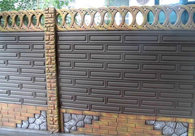 бетонный еврозабор винница