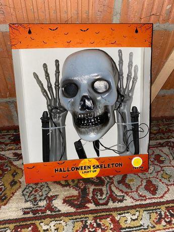 Halloween szkielet ozdoba swiecace skeleton