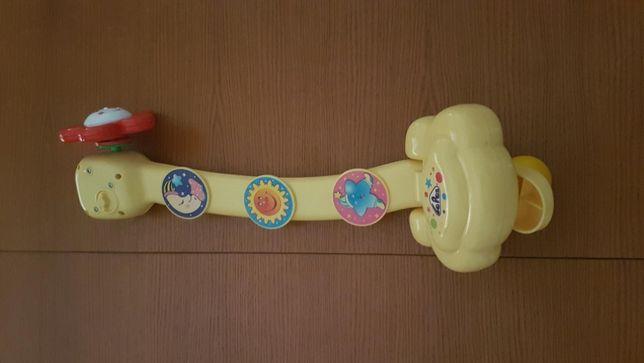 Boneco Musical Rotativo Bebé