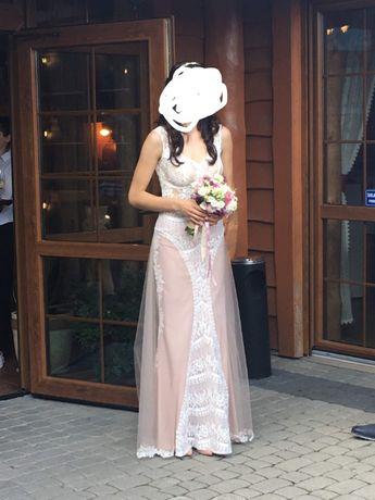 Sprzedam suknię ślubną/wieczorowa/ślub cywilny  .