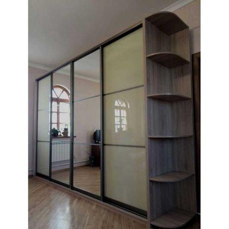 УХТЫ! Шкаф купе в любых размерах (двери зеркало или ДСП) Киев и обл.