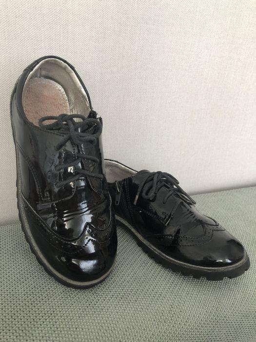 Туфли черные, натур. кожа, р.33 Харьков - изображение 1