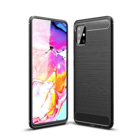 Pancerny pokrowiec Carbon Samsung Galaxy A42 5G A51 A71 M51 Warszawa