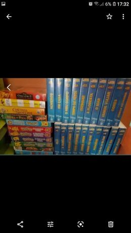 Cassetes VHS Infantil