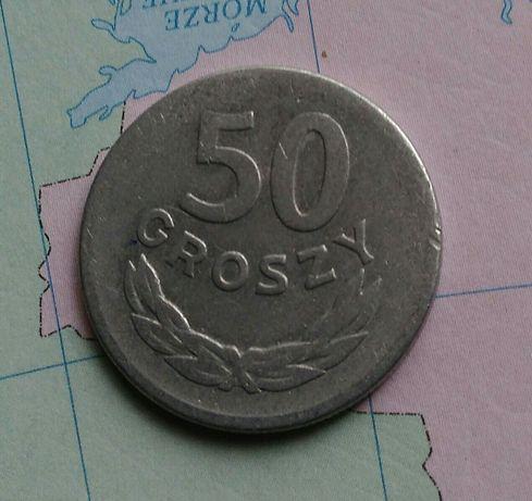 Moneta 50 gr z 1965r - PRL