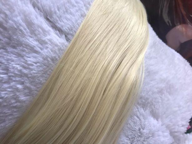 Włosy Naturalne Słowianskie 0,8 G 52 cm keratyna,mikro ring nano ring