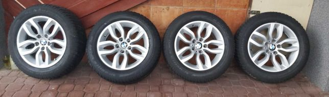 Opony zimowe + felgi BMW 17cali