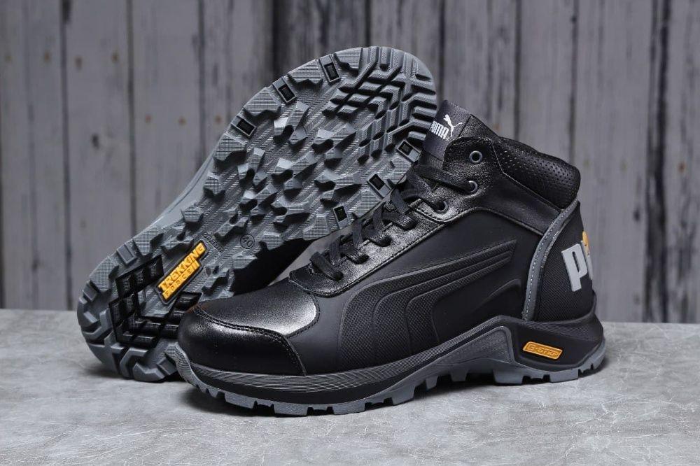 Зима, ботинки, натуральный мех Puma G-Step. Мужские Пума. Обувь. Ужгород - изображение 1