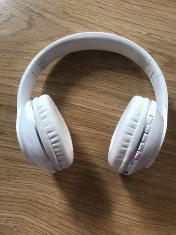 Słuchawki bluetooth Kruger&Matz białe