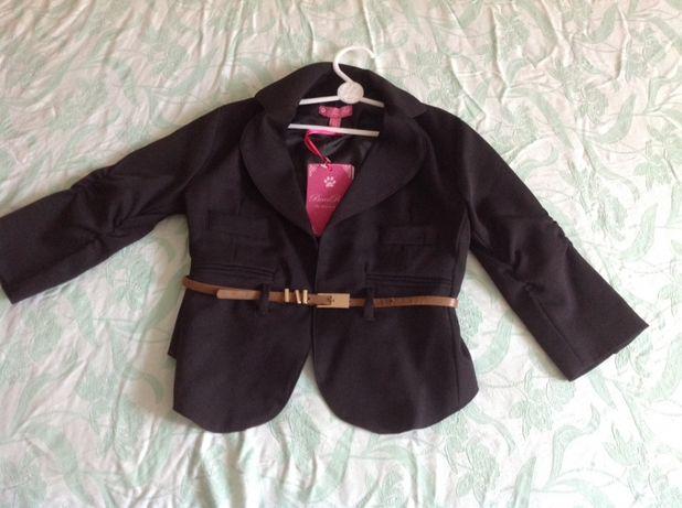 Школьный пиджак bear richi 140 cm новый