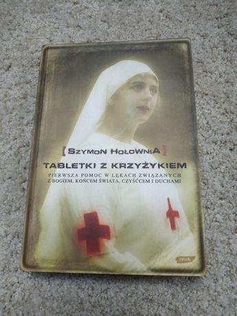 Książka Szymon Hołownia - tabletki z krzyżykiem (Z AUTOGRAFEM)