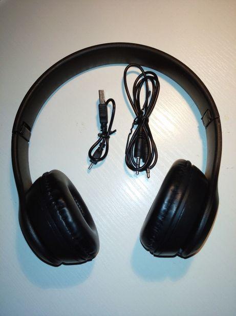 SŁUCHAWKI stereo Bluetooth 5.0 Met Feel 3.5 mm