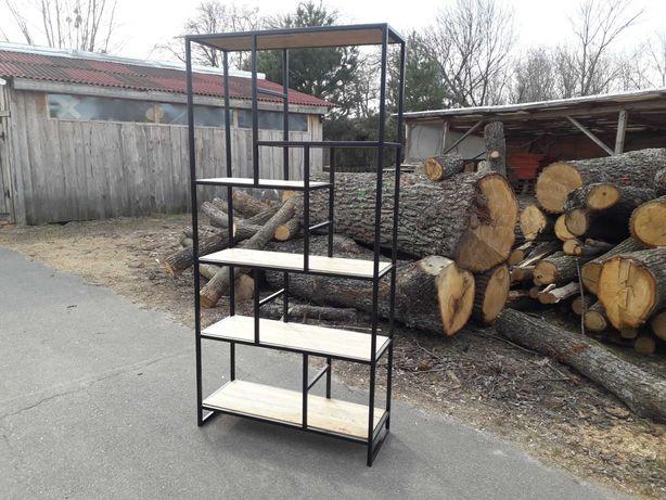 """Стеллаж металлический, мебель """"лофт"""" на заказ, офисный стеллаж"""