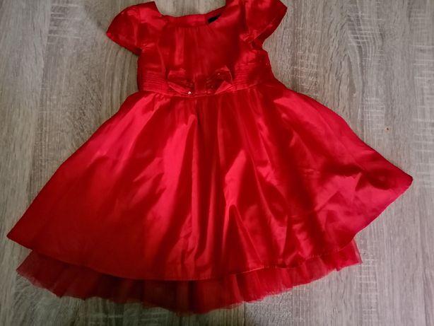 Sukienka czerwona święta sesja George