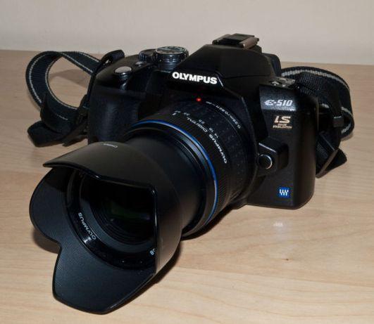 Зеркальна камера Olympus e510 2 об'єктива
