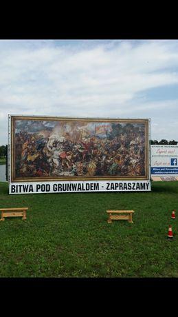 """Obraz ,,Bitwy pod Grunwaldem"""" tam gdzie chcesz."""