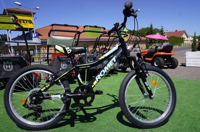 "WYPRZ rower junior Romet Rambler 20"" ALU 6biegów KID Junior"