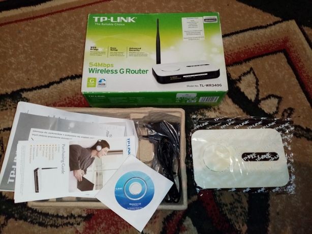Router TP-Link TL-WR340G