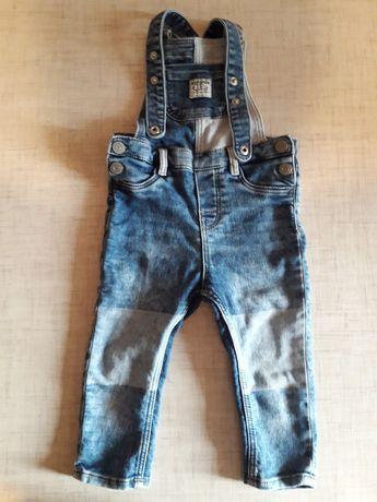 джинсовый комбинезон HM 86