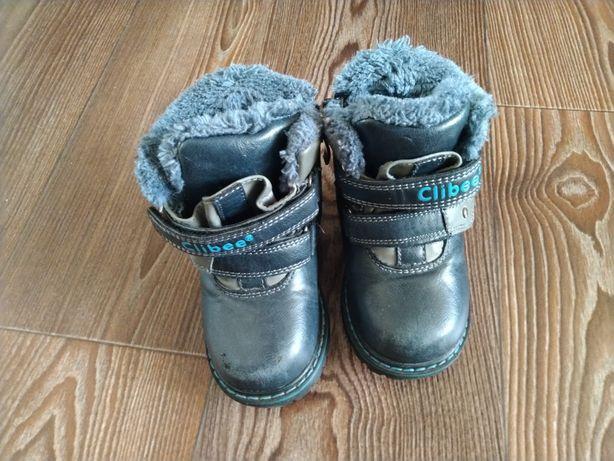 Ботинки зимние на мальчика 1-1,5 года