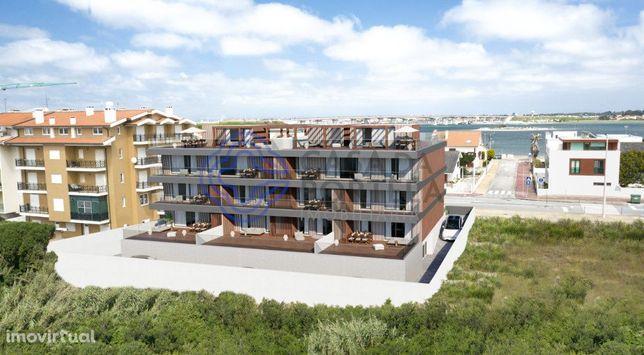 Apartamento T3 novo na Praia da Costa Nova