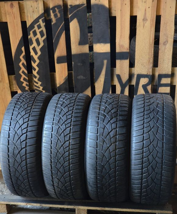 Резина зимова 255 45 r20 Dunlop шини колеса шины зимние Львов - изображение 1