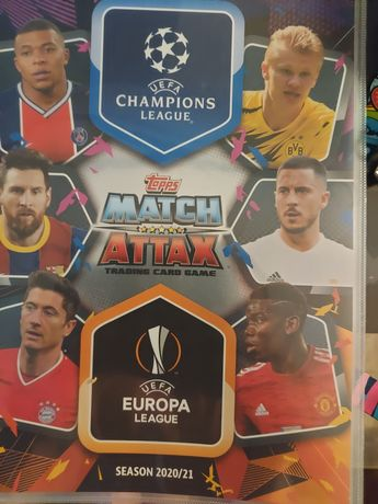 Karty UEFA Champions League 2020/2021. Match Attax 27.01.2021r.