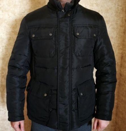 Мужская зимняя куртка Geox пуховая.100% оригинал. Состояние хорошее. П