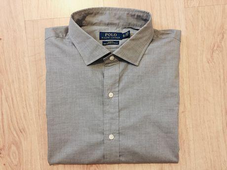 Ralph Lauren szara koszula slim fit XL nowa