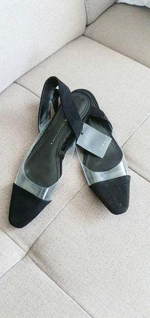 Zara Basic buty sandałki nowe rozmiar 38
